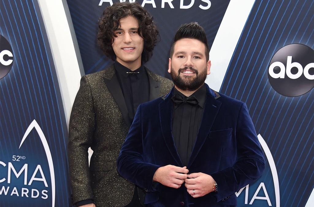 Dan + Shay at the CMA Awards on Nov. 14, 2018 in Nashville.