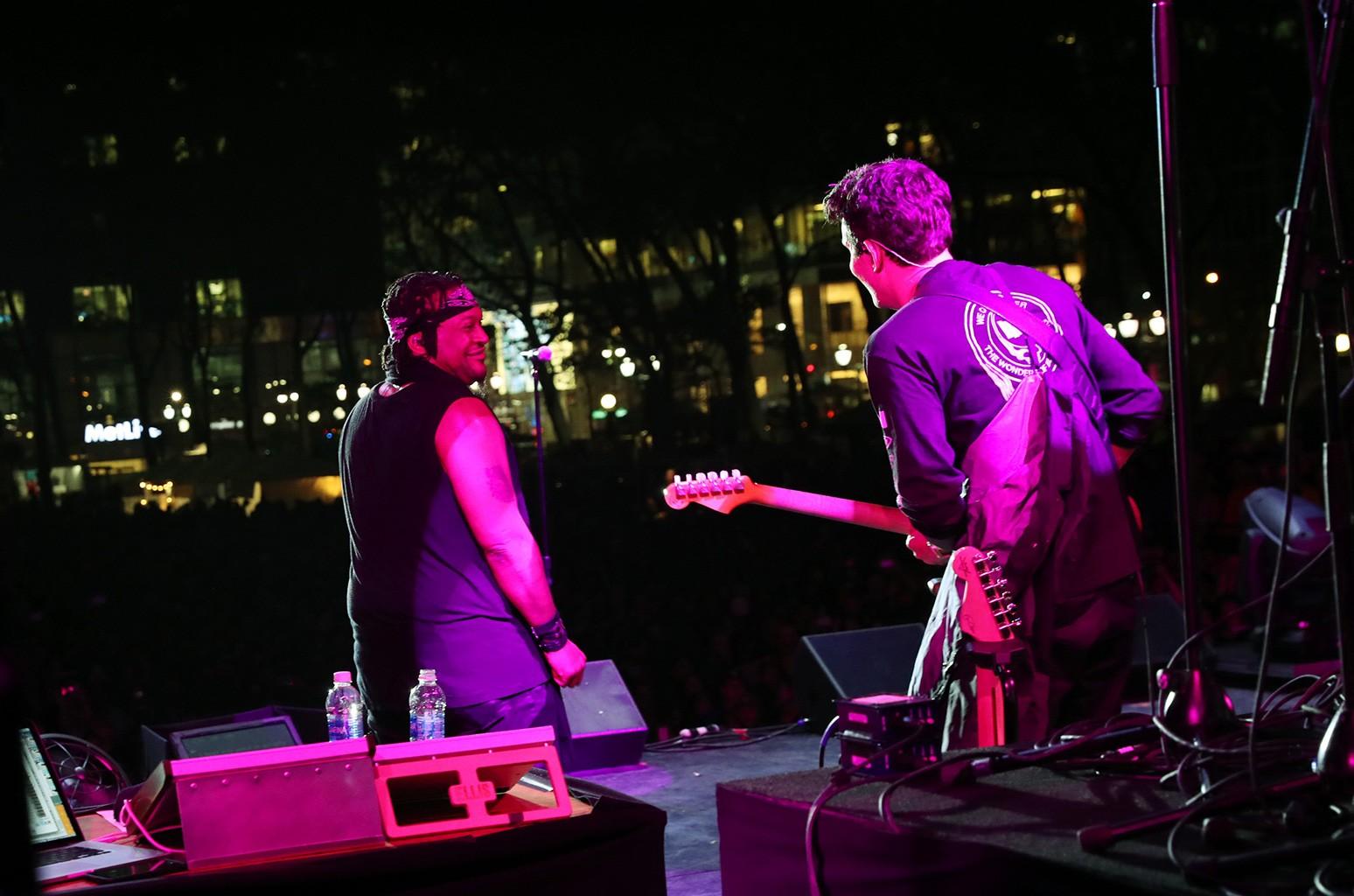 D'Angelo and John Mayer