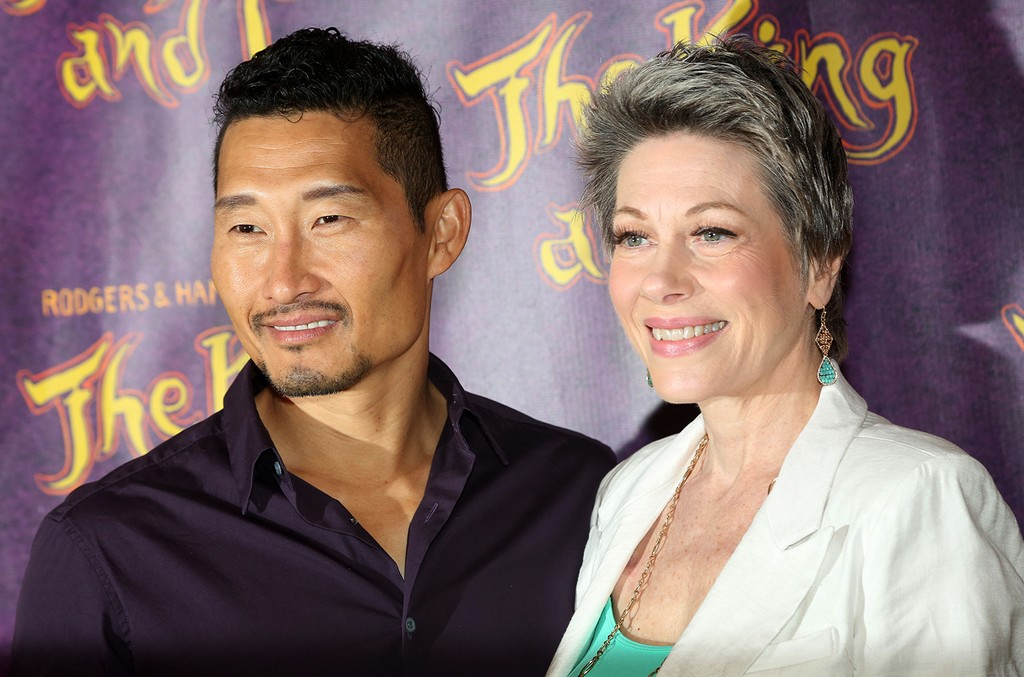 Daniel Dae Kim and Marin Mazzie in New York City
