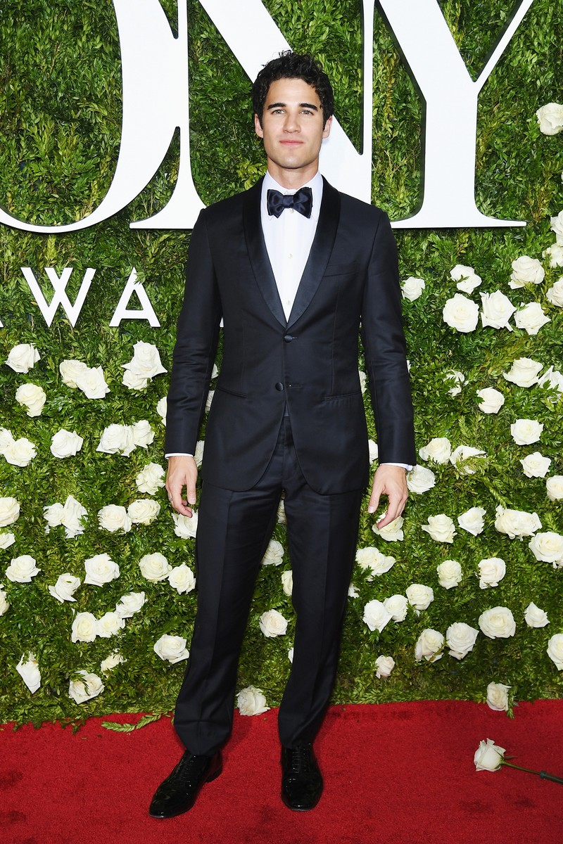 Darren Criss attends the 2017 Tony Awards at Radio City Music Hall on June 11, 2017 in New York City.