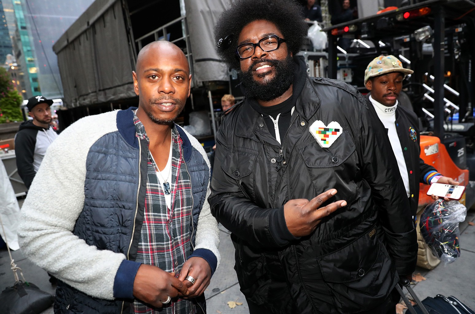 Dave Chappelle and Questlove