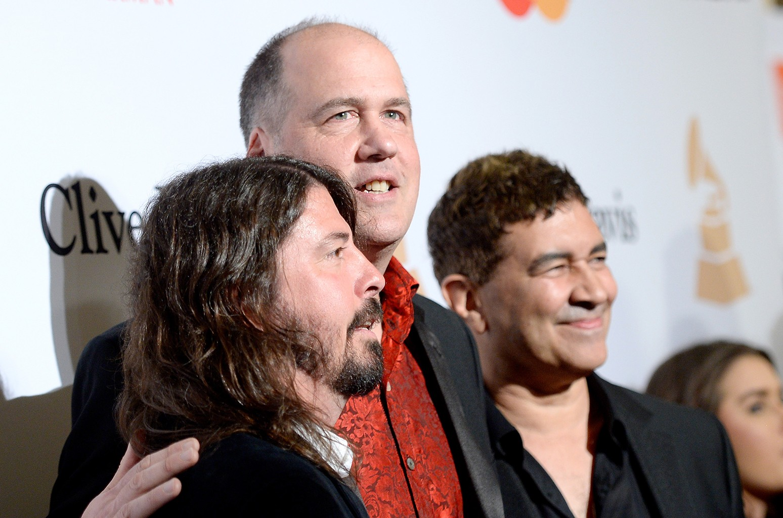 Dave Grohl, Krist Novoselic, and Pat Smear