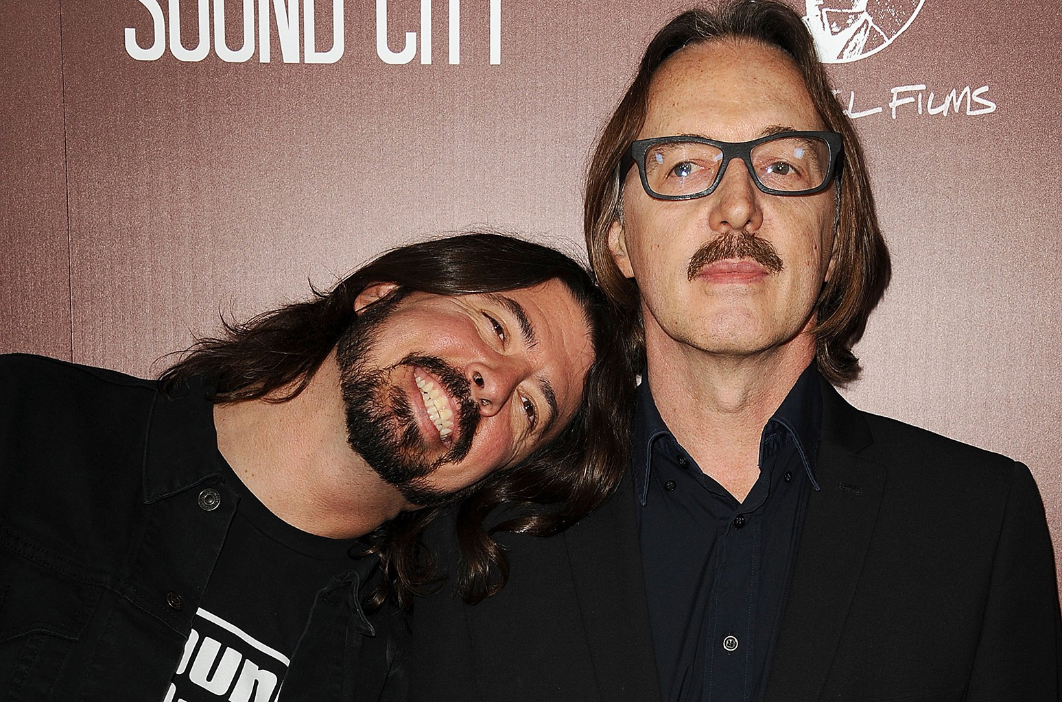 Dave Grohl and Butch Vig