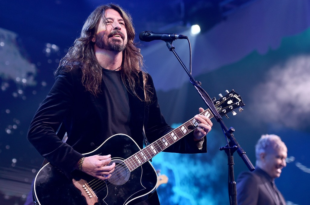 Dave Grohl? of the Foo Fighters