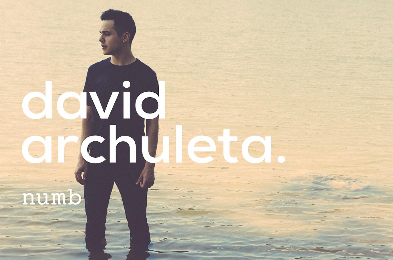 """David Archuleta, """"Numb"""""""