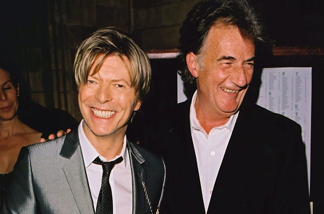 David Bowie and Paul Smith
