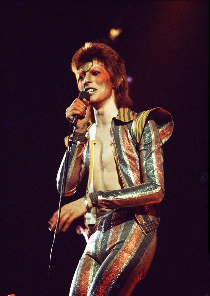 David Bowie 1970's Ziggy Stardust period