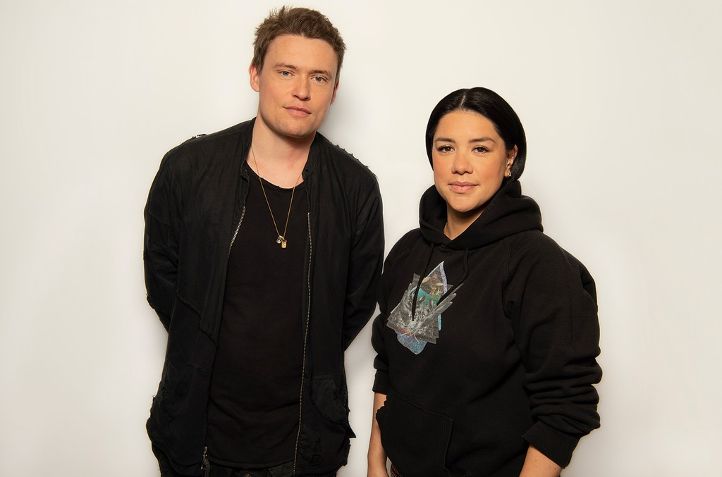 David Dollimore and Stacey Tang