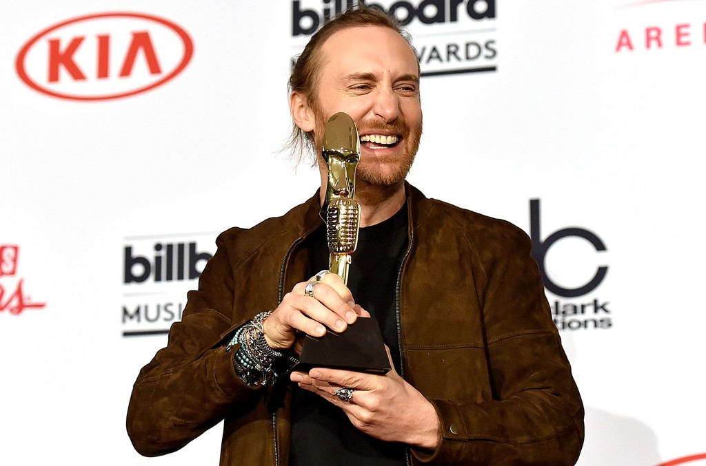 David Guetta at the 2016 Billboard Music Awards