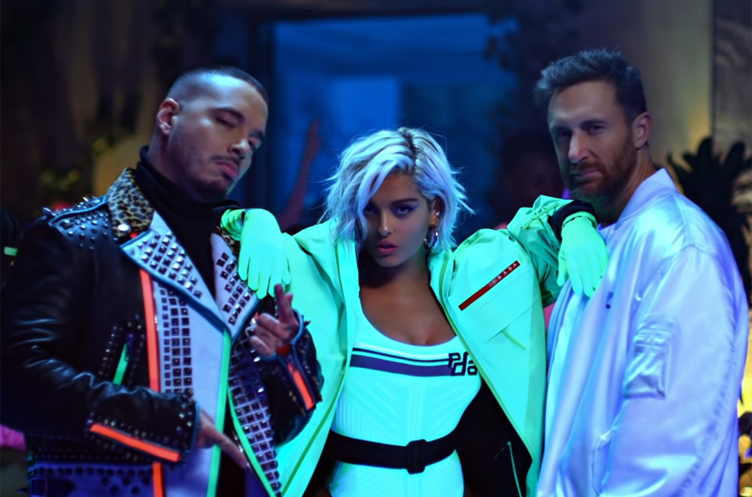 David Guetta Bebe Rexha J Balvin S Say My Name Video Watch Billboard Billboard