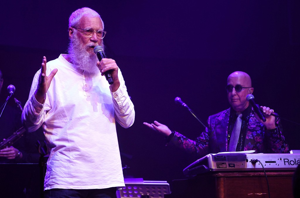 David Letterman and Paul Shaffer