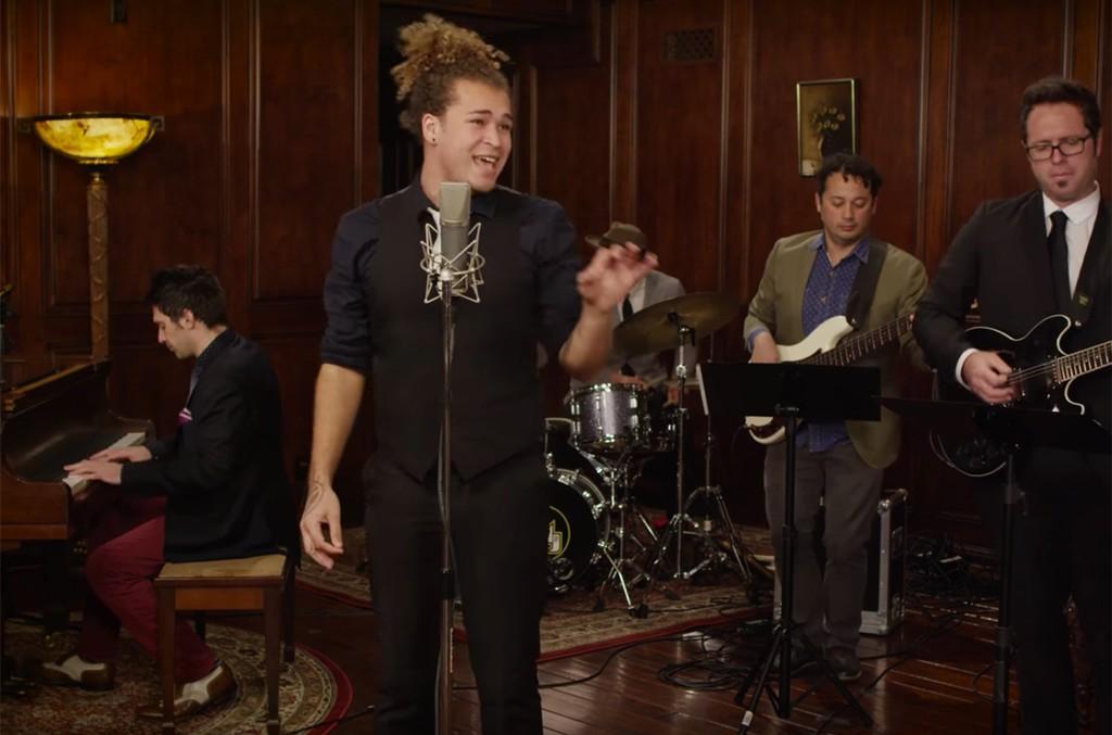 DeAndre Brackensick covers Ariana Grande's 'Side To Side' on Postmodern Jukebox