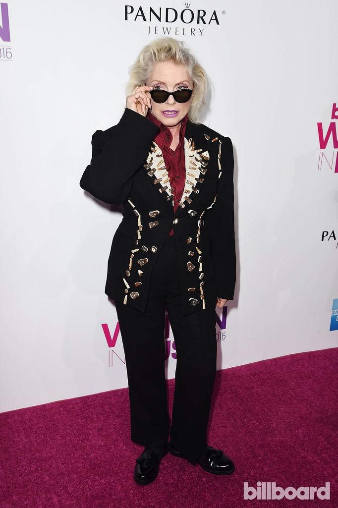 Debbie Harry attends the Billboard Women in Music 2016 event on Dec. 9, 2016 in New York City.