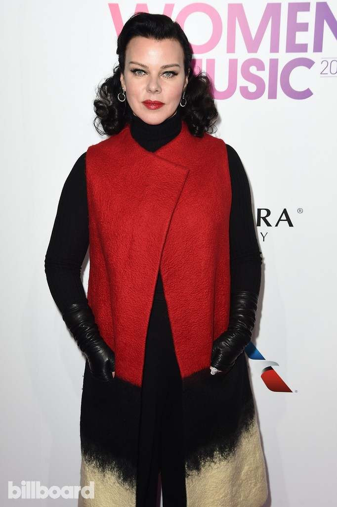 Debi Mazar attends the Billboard Women in Music 2016 event on Dec. 9, 2016 in New York City.