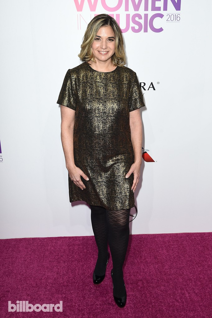 Deborah Curtis attends the Billboard Women in Music 2016 event on Dec. 9, 2016 in New York City.