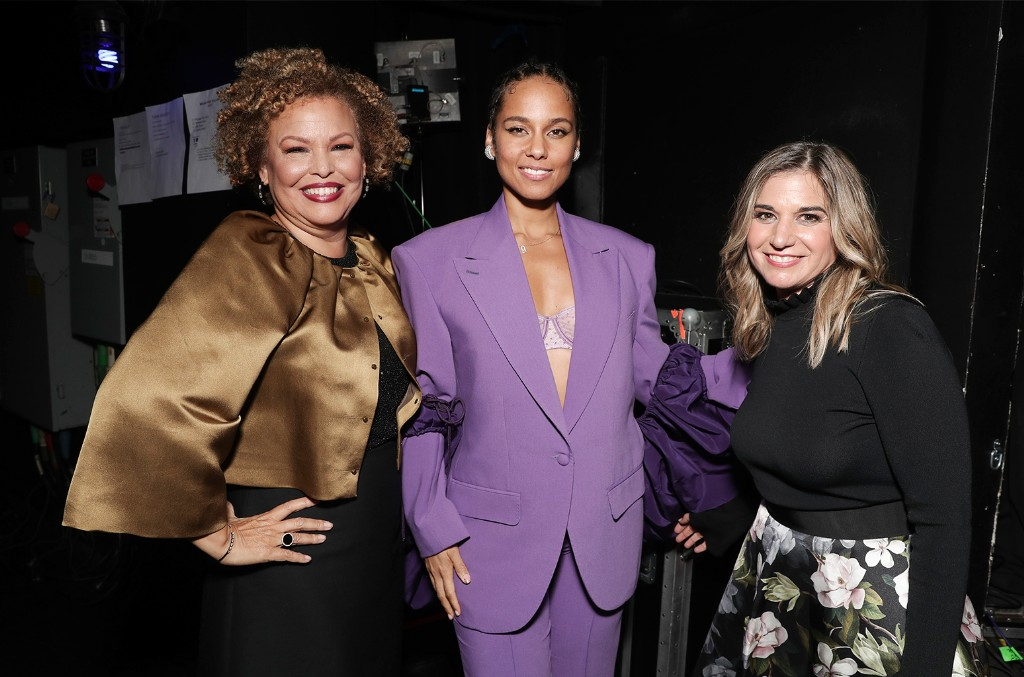Deborah Lee, Alicia Keys and Deborah Curtis