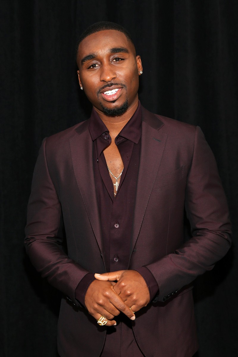 Demetrius Shipp Jr. at the 2017 BET Awards at Staples Center on June 25, 2017 in Los Angeles.