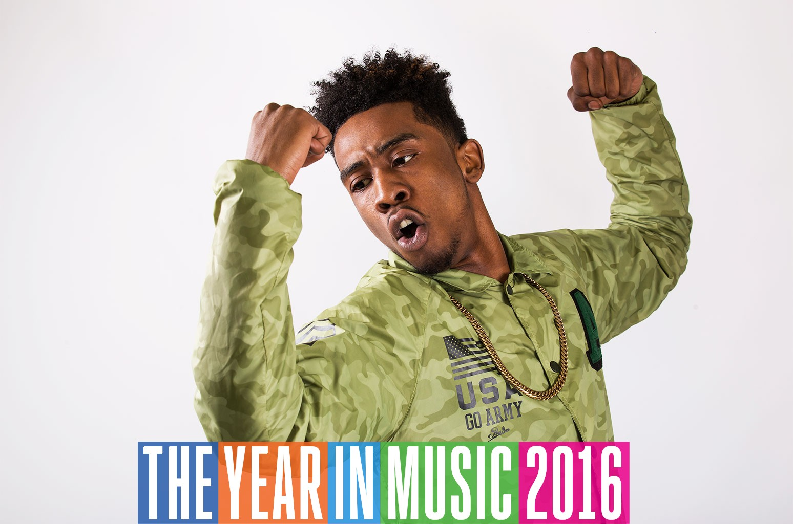 Desiigner photographed in 2016.