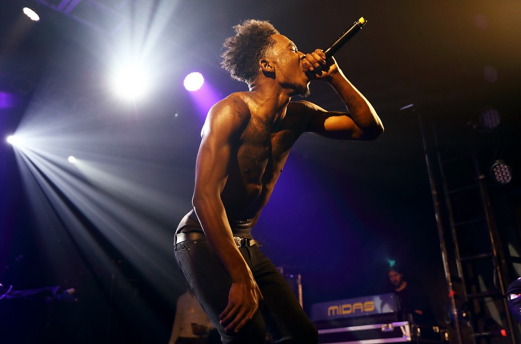 Desiigner performs in 2016