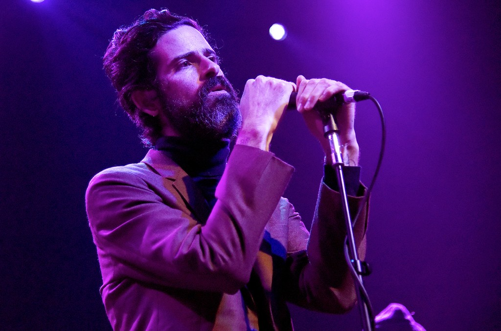 Devendra Banhart performs at The Fillmore on Jan. 26, 2017 in San Francisco.