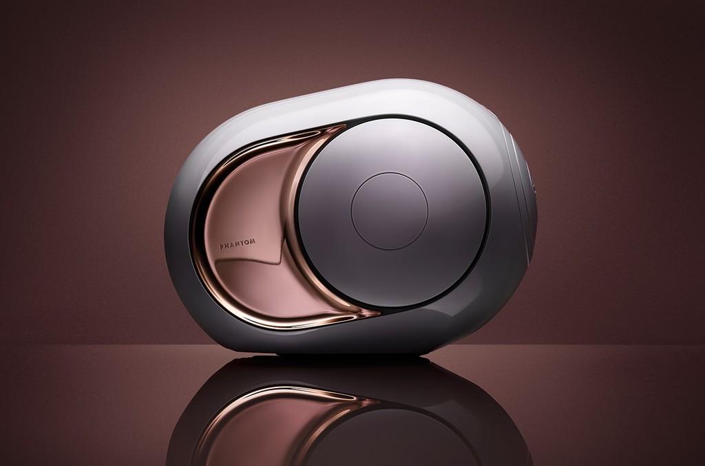 Devialet Gold Phantom Speakers