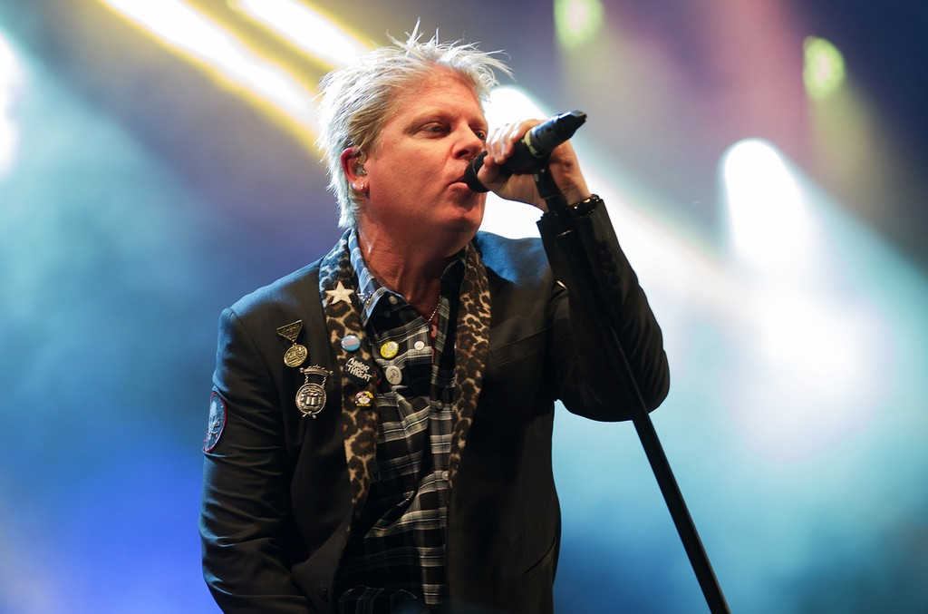 Dexter Holland of The Offspring performs at Aftershock Festival in Discovery Park on Sept. 14, 2014 in Sacramento, Calif.
