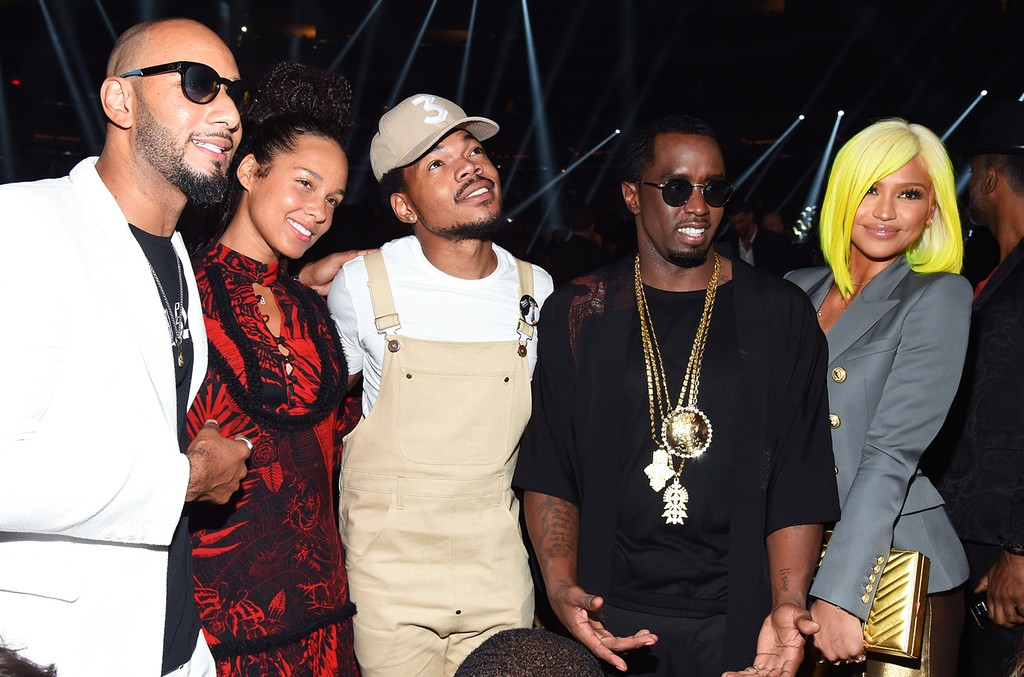 Swizz Beatz, Alicia Keys, Chance the Rapper, Sean 'Diddy' Combs & Cassie