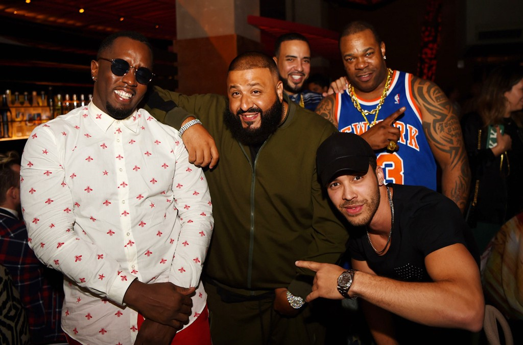 Diddy, DJ Khaled, French Montana, Busta Rhymes and Prince Royce
