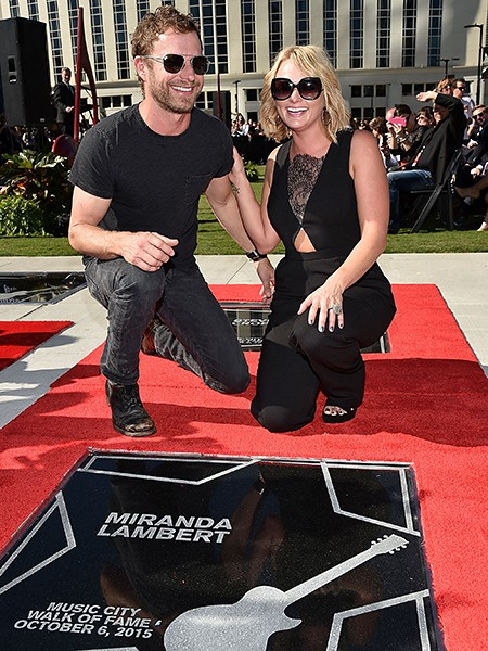 Dierks Bentley and Miranda Lambert