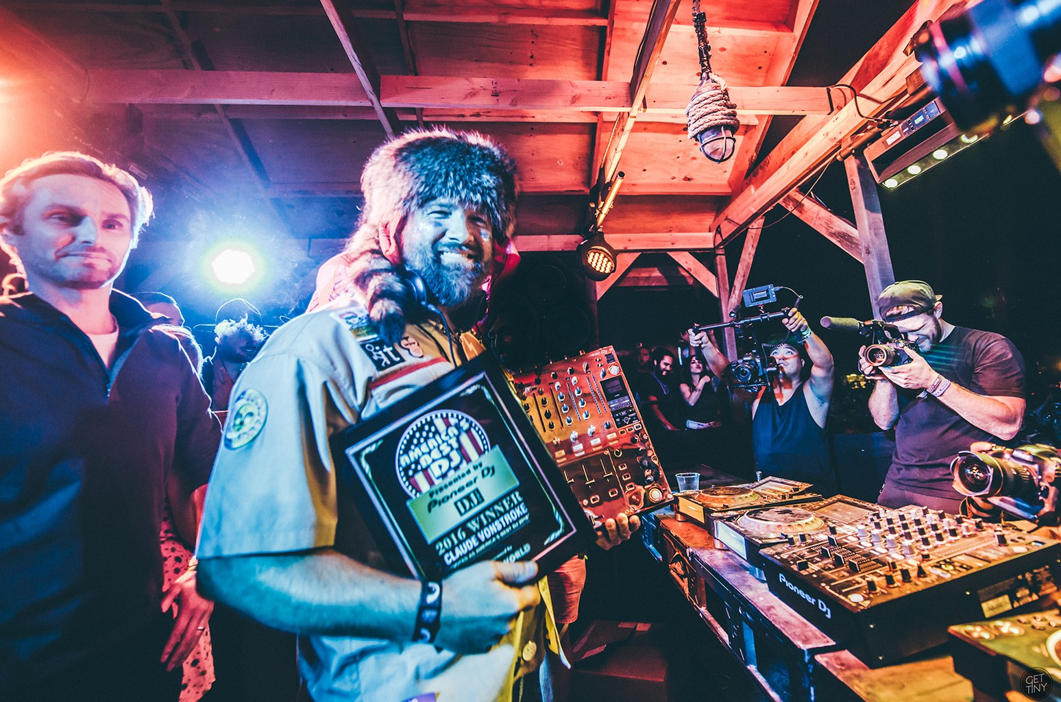 Claude VonStroke at Dirtybird Campout.