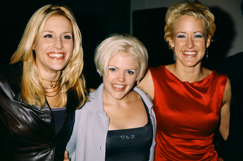 Emily Robison, Natalie Maines and Martie Maguire of the Dixie Chicks