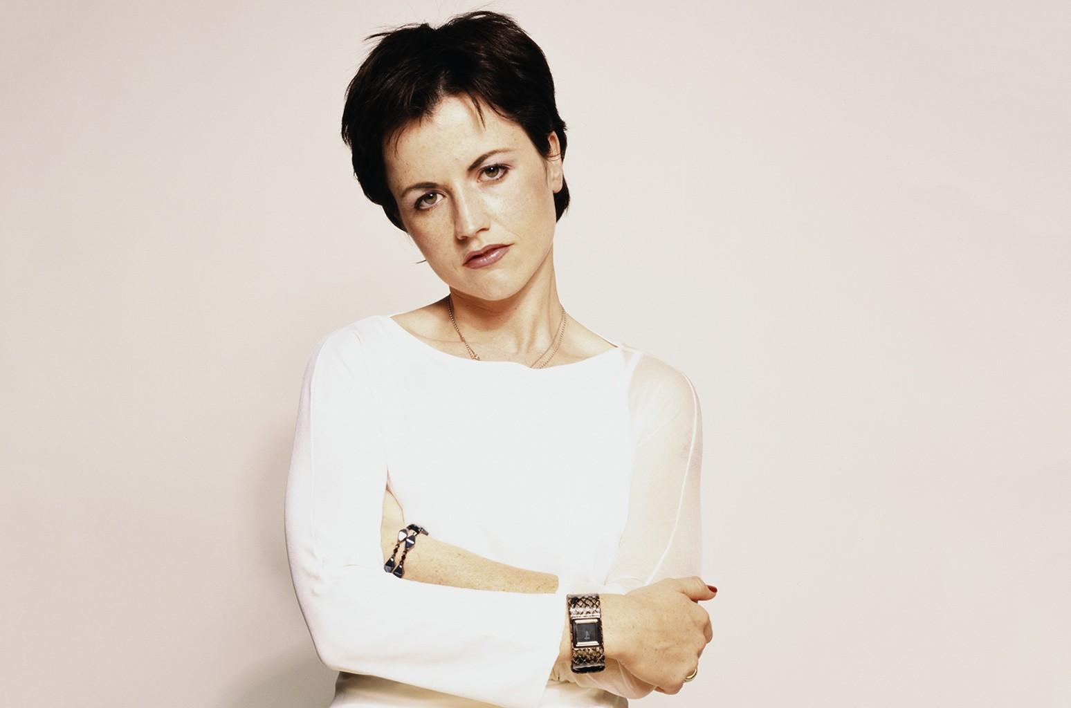 Dolores O'Riordan of The Cranberries.