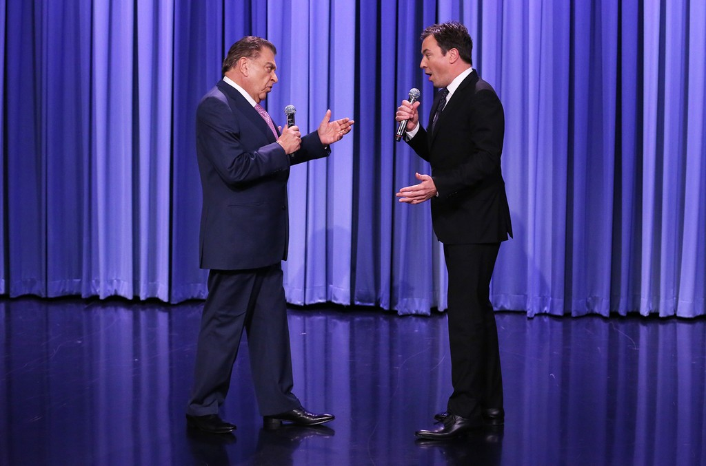 Don Francisco and Jimmy Fallon