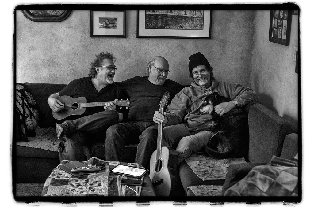 Don Henry, Tom Paxton and Jon Vezner