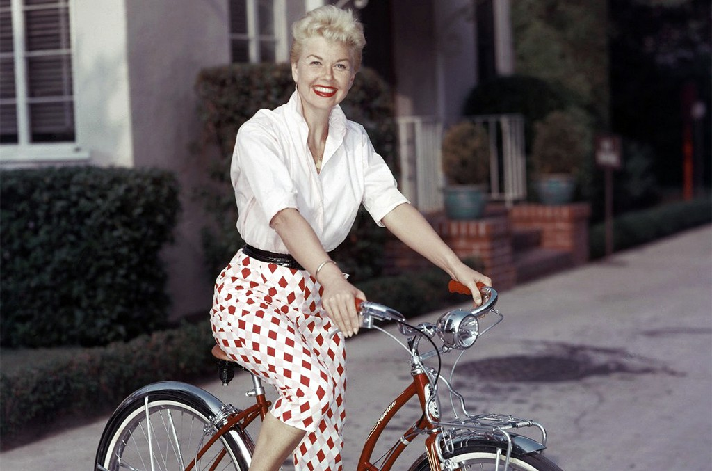 Doris Day photographed in 1955.