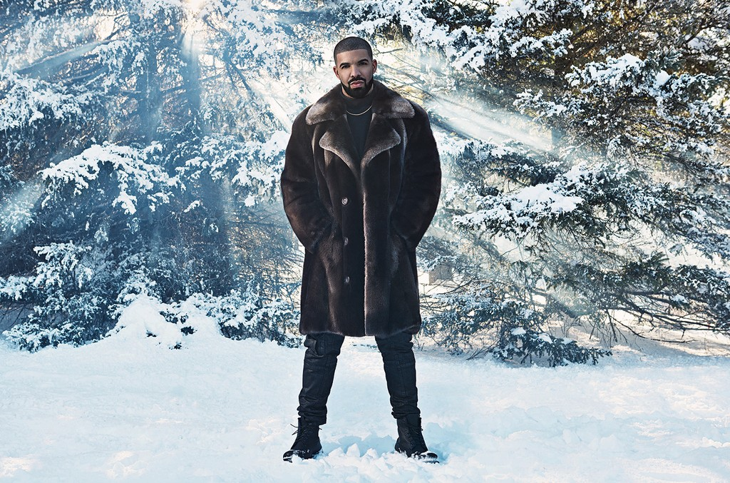 Drake photographed in 2016.