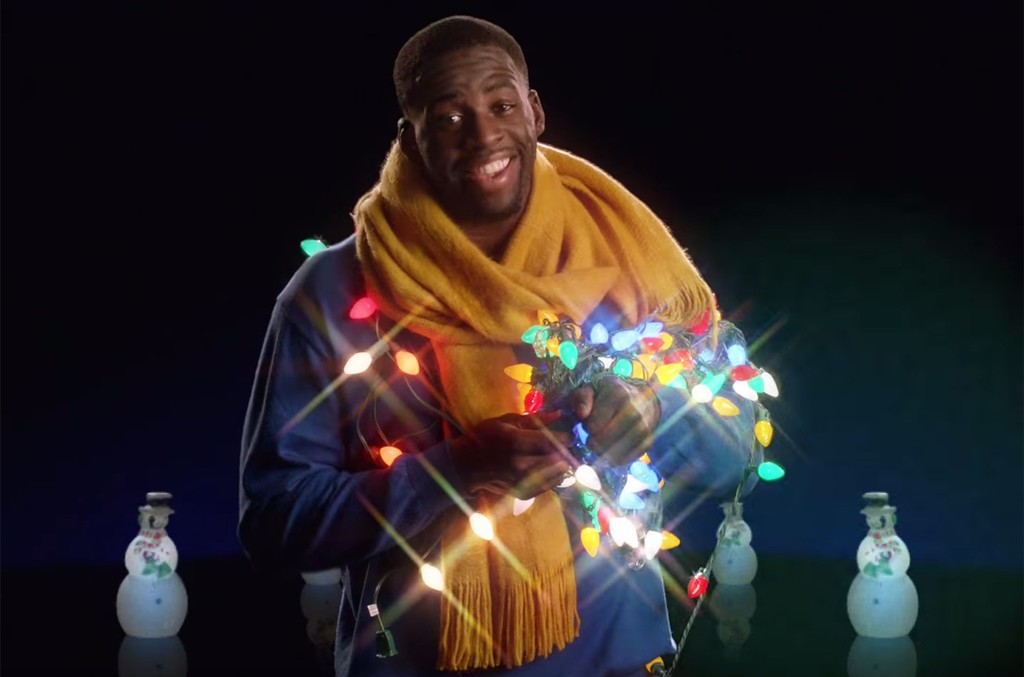 """Draymond Green in the video for """"Most Dunktastic Time of the Year!"""""""
