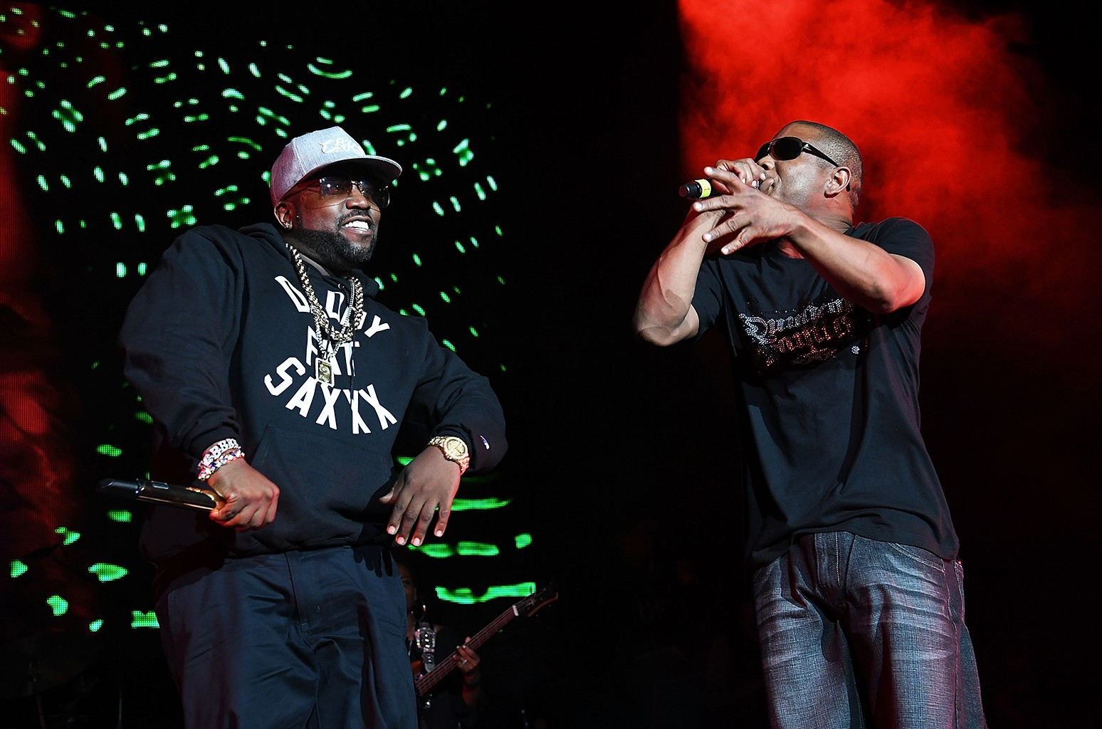 Big Boi and Cool Breeze of the Dungeon Family