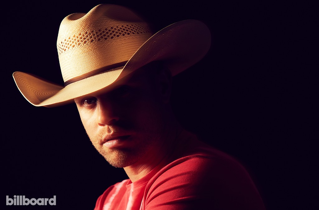 Dustin Lynch photographed on June 9, 2017 at Nissan Stadium in Nashville, Tenn.