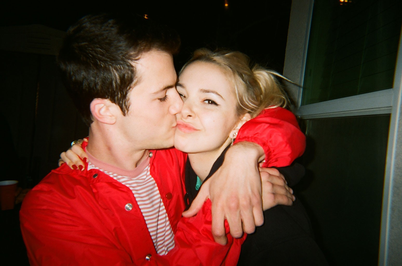 Dylan Minnette and Lydia Night