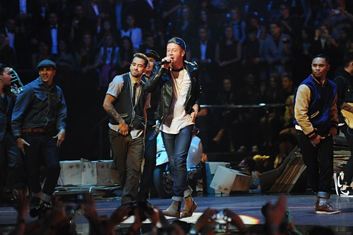 Macklemore, Ryan Lewis and Eric Nally