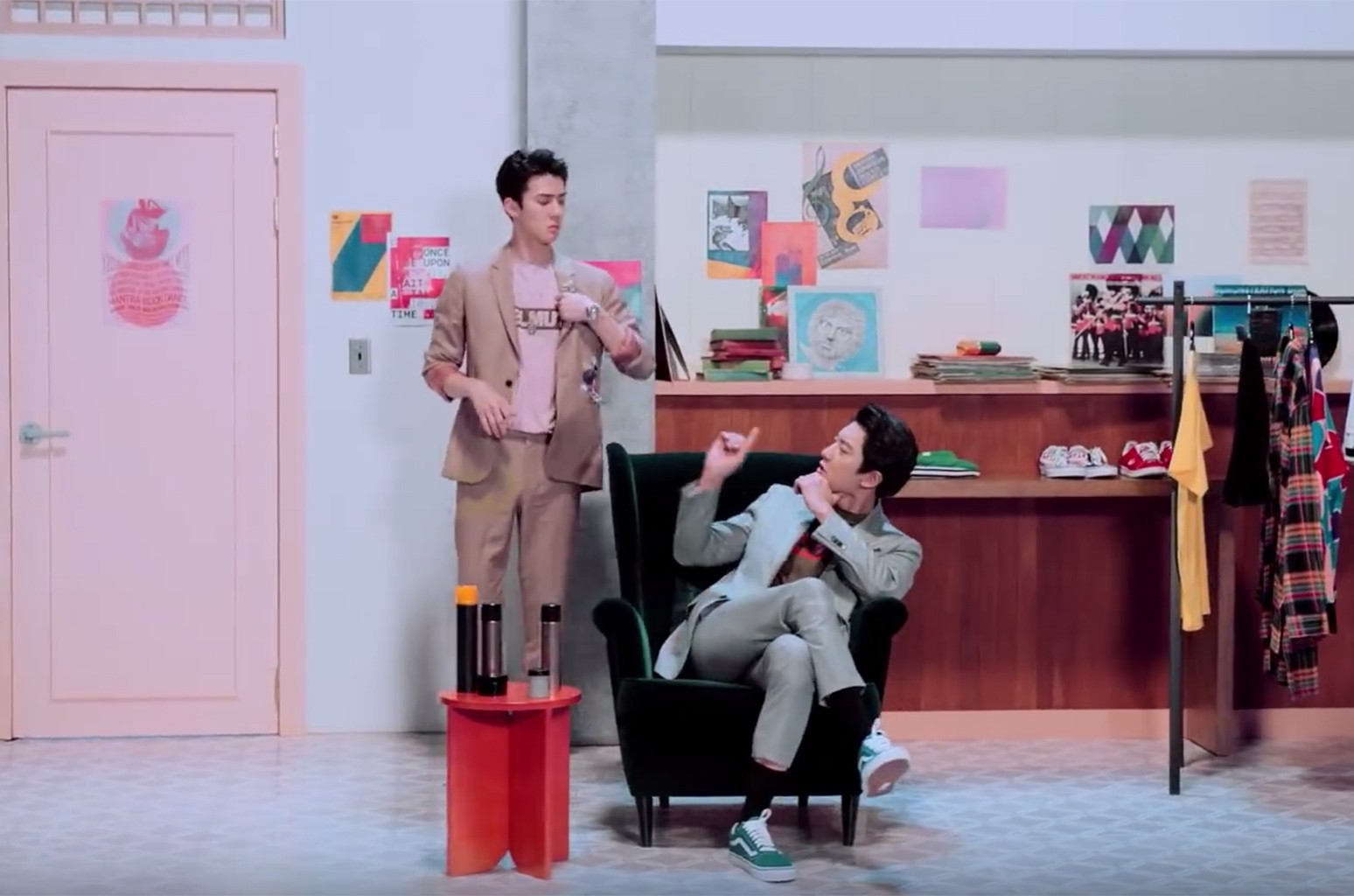 """EXO Sehun & Chanyeol's """"We young"""""""