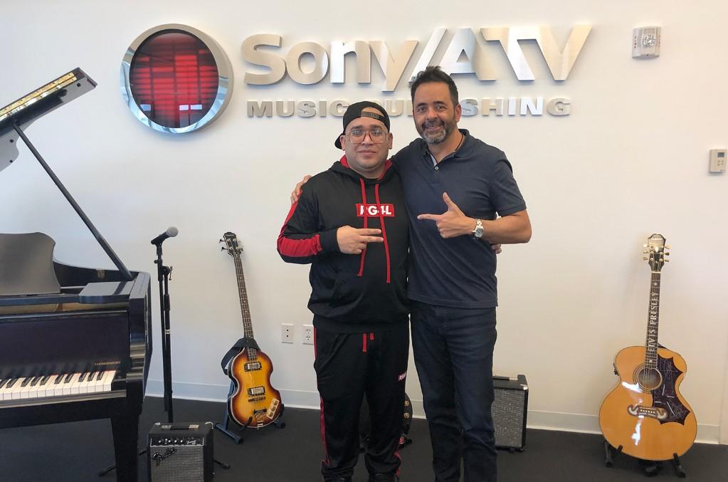 EZ and Jorge Mejia