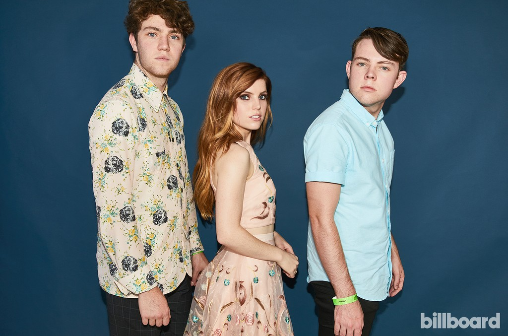 Echosmith at the Hot 100 Music Festival, 2017