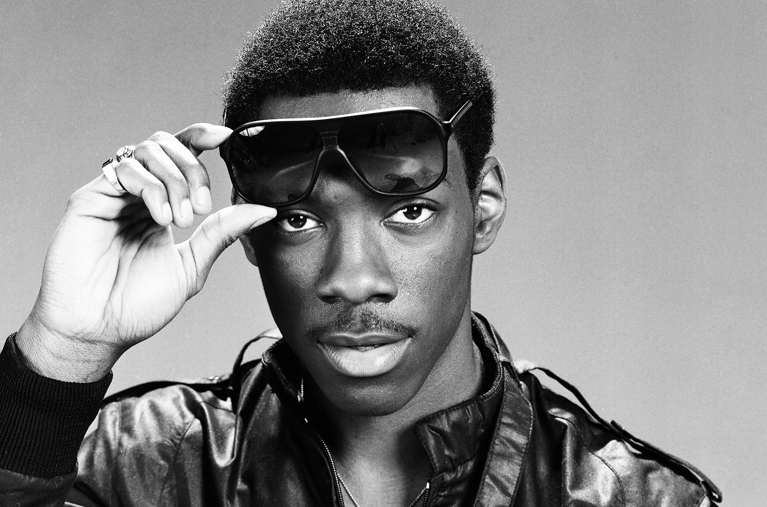 Eddie Murphy photographed for Saturday Night Live in the 1980s.