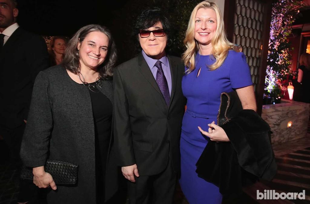 Lauren Iossa, John Titta and Elizabeth Matthews of ASCAP attends 2017 Billboard Power 100 - Inside at Cecconi's on Feb. 9, 2017 in West Hollywood, Calif.
