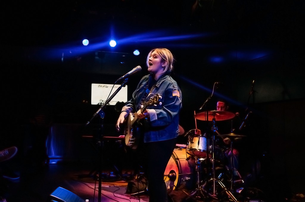 """Elle King performed hits from her latest album """"Love Stuff"""" and debuted the premiere of her """"Up Close and Personal"""" Virtual Reality film on Dec 3, 2016"""