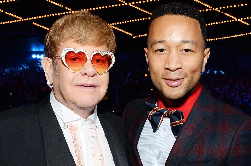 Elton John and John Legend
