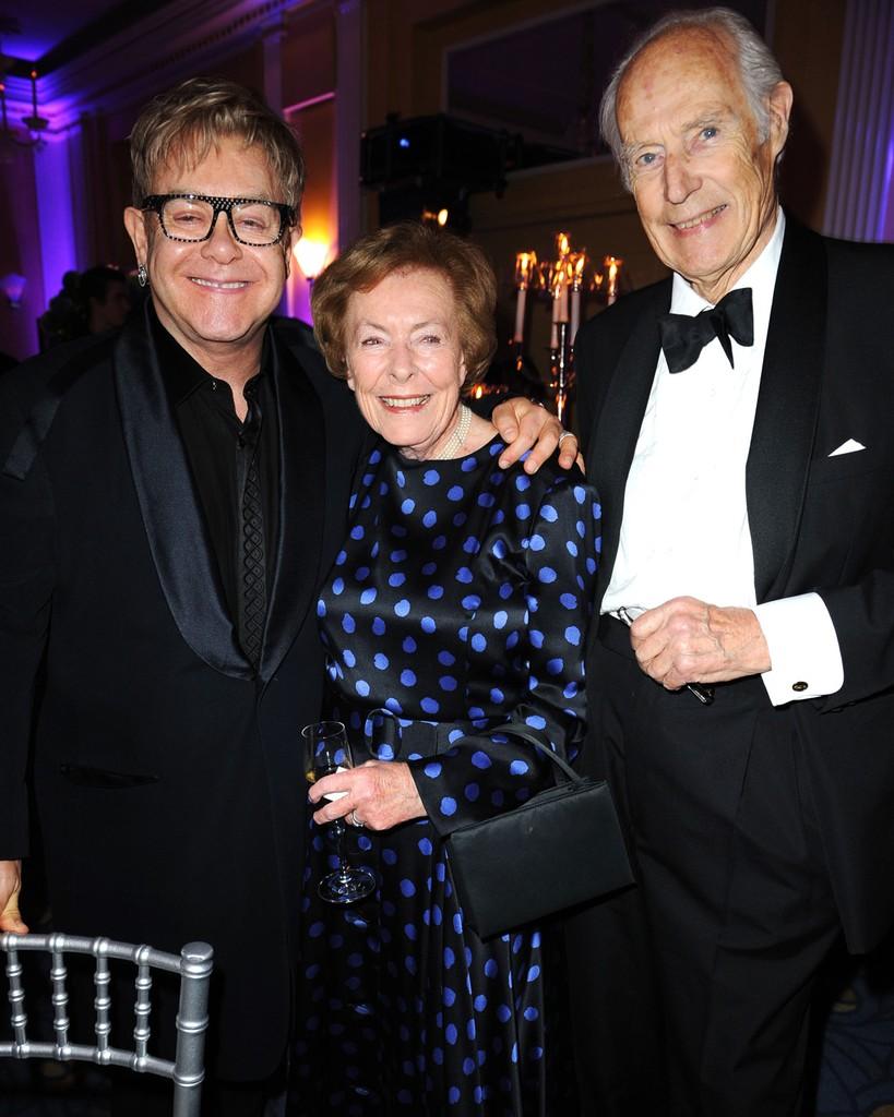 Elton John with George Martin