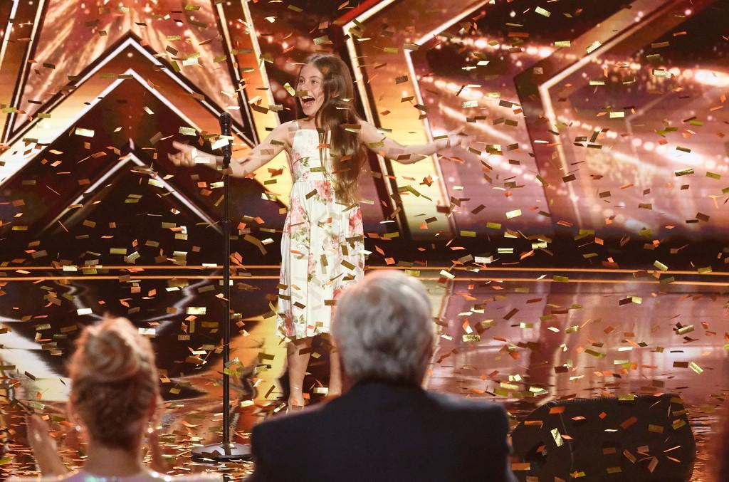 Emanne Beasha on America's Got Talent.